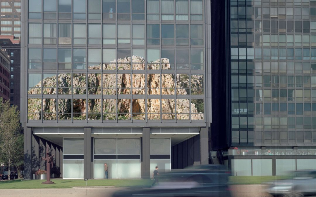 Nature and Architecture Superimposed: a conversation with Assaf Evron about Collages for the Esplanade Apartments